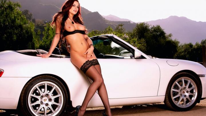 фотообои автомобилей с девушками эротика скачать