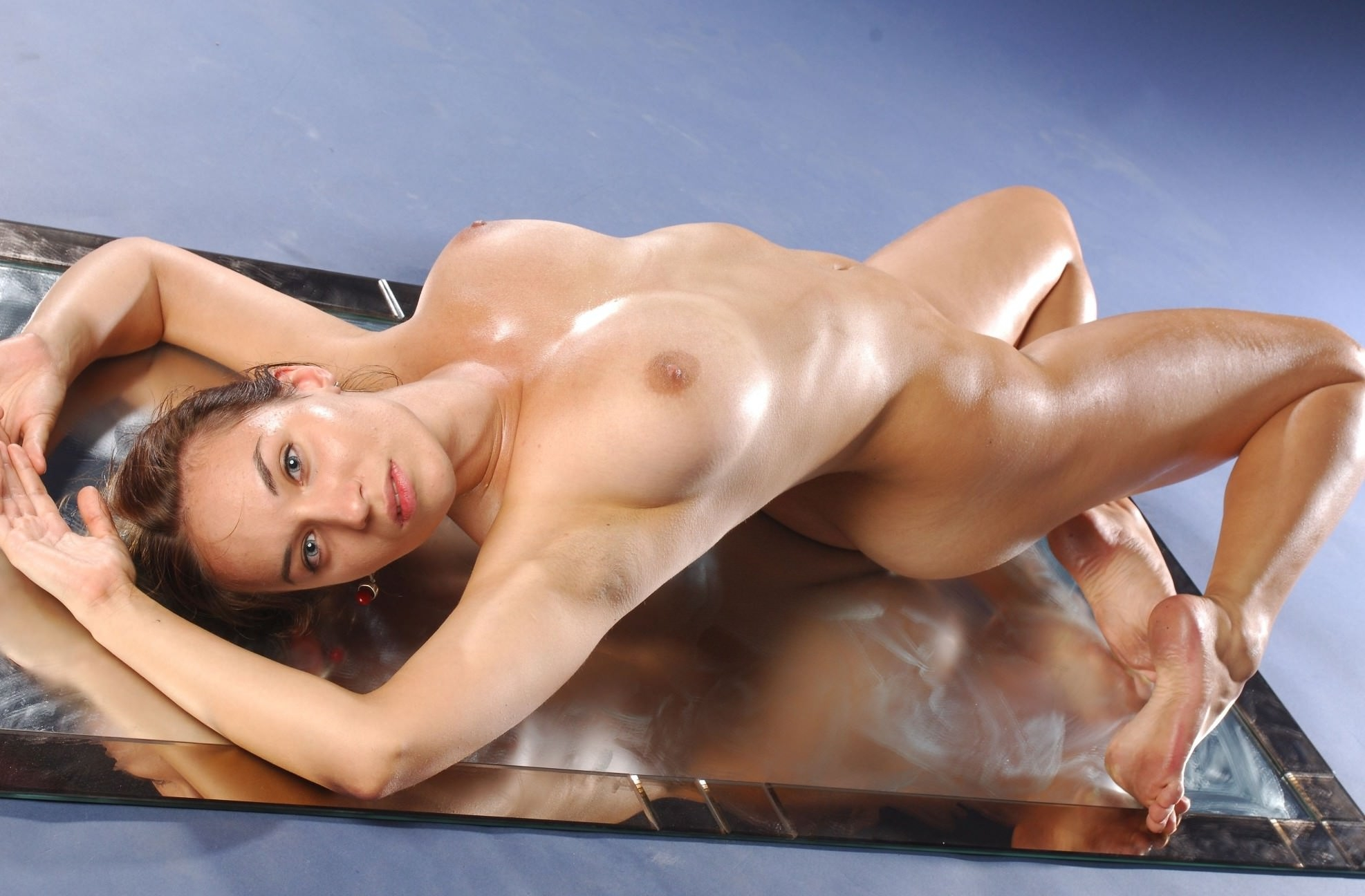 Asia Sexy Girl Nude Body Stock Photo