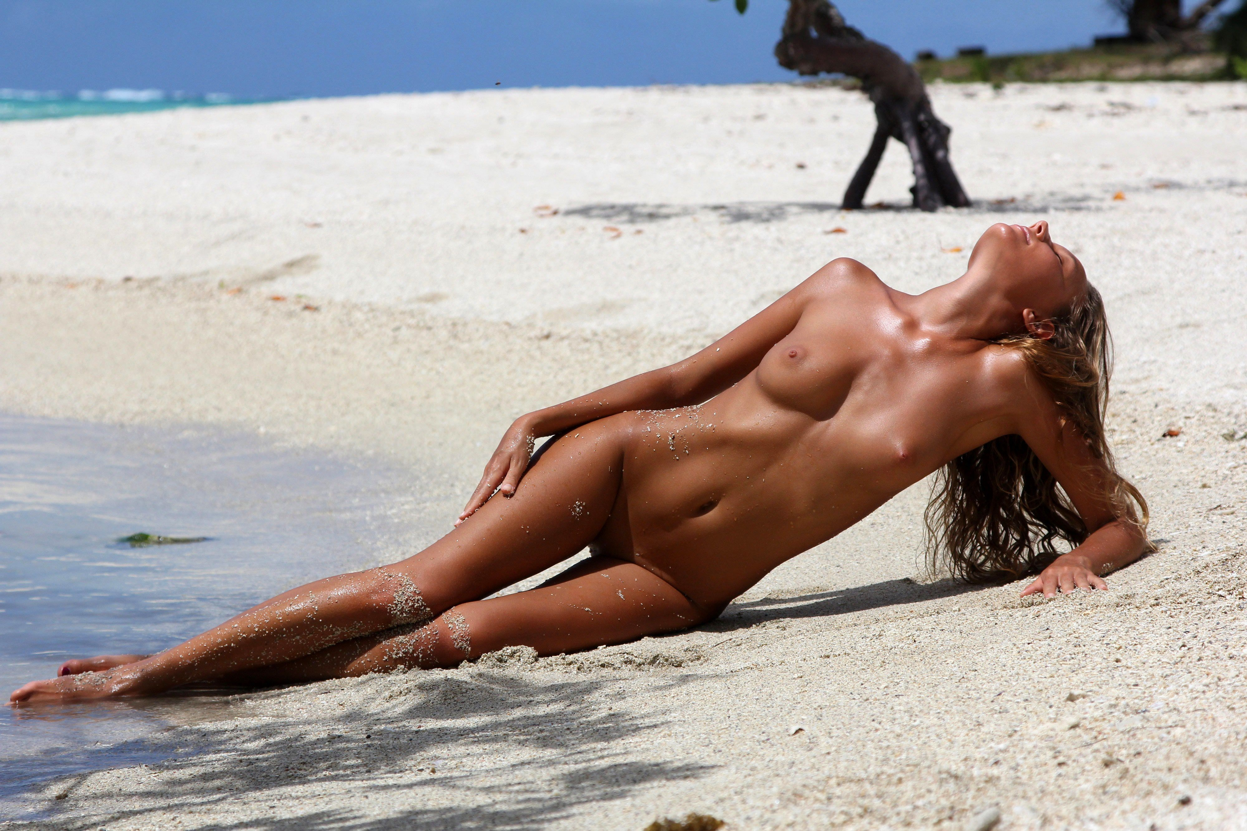 Private island with nude beach