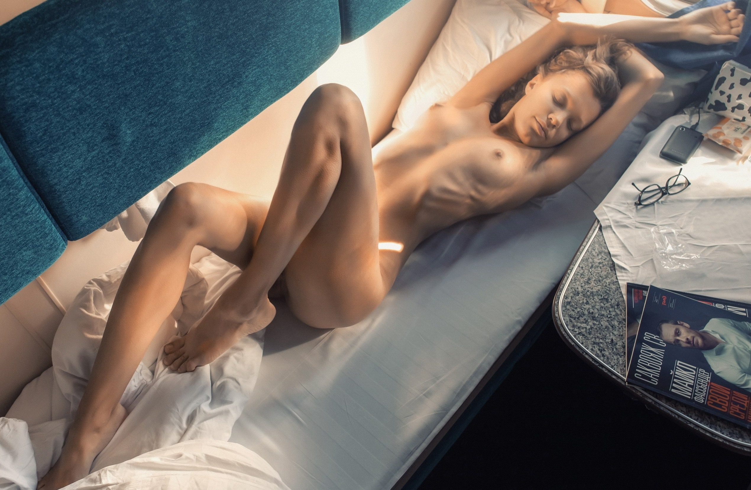 Nadine And Monique Naked On A Train