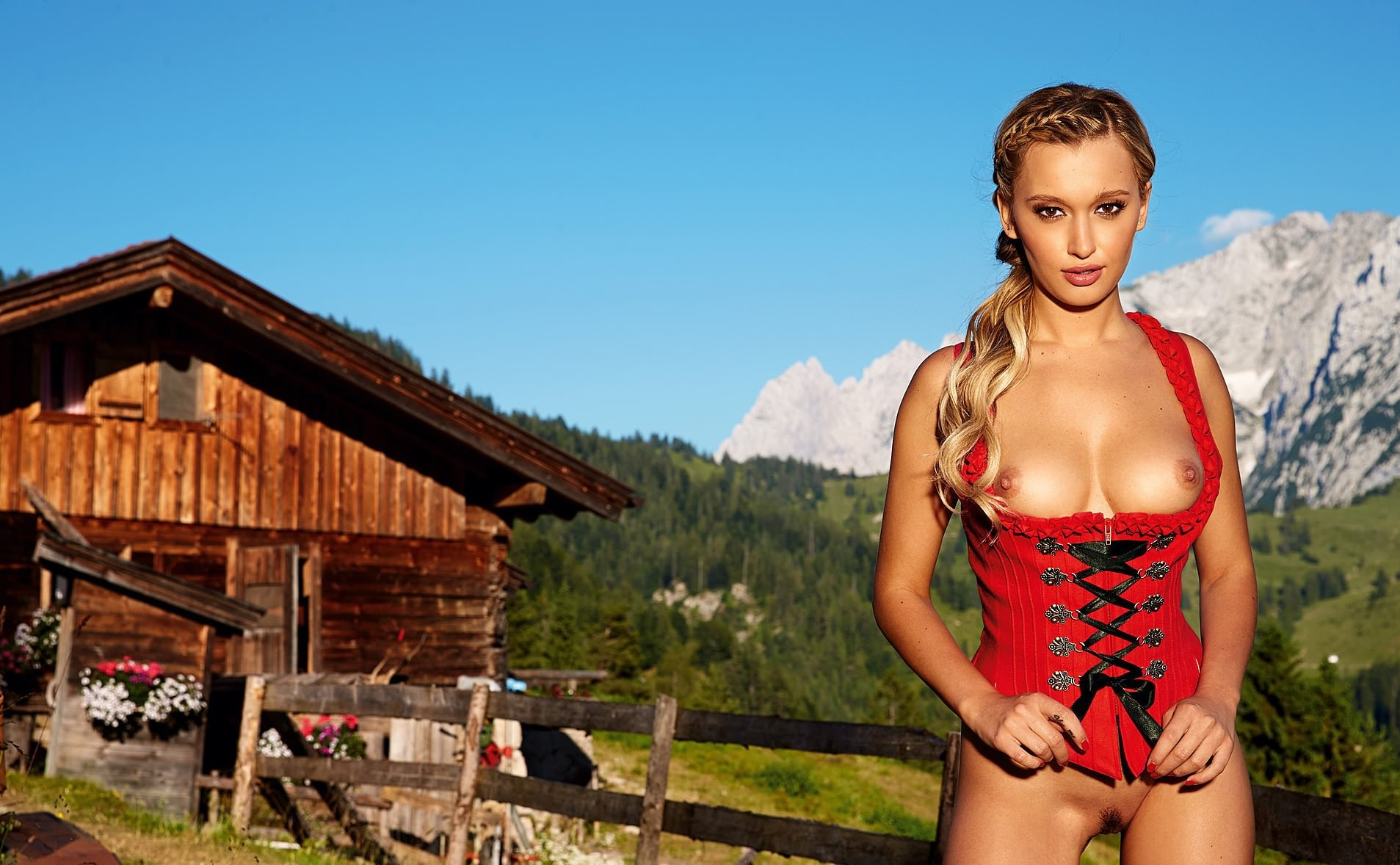 Amazon Hot Selling German Market Tilting Outdoor Beach Umbrella