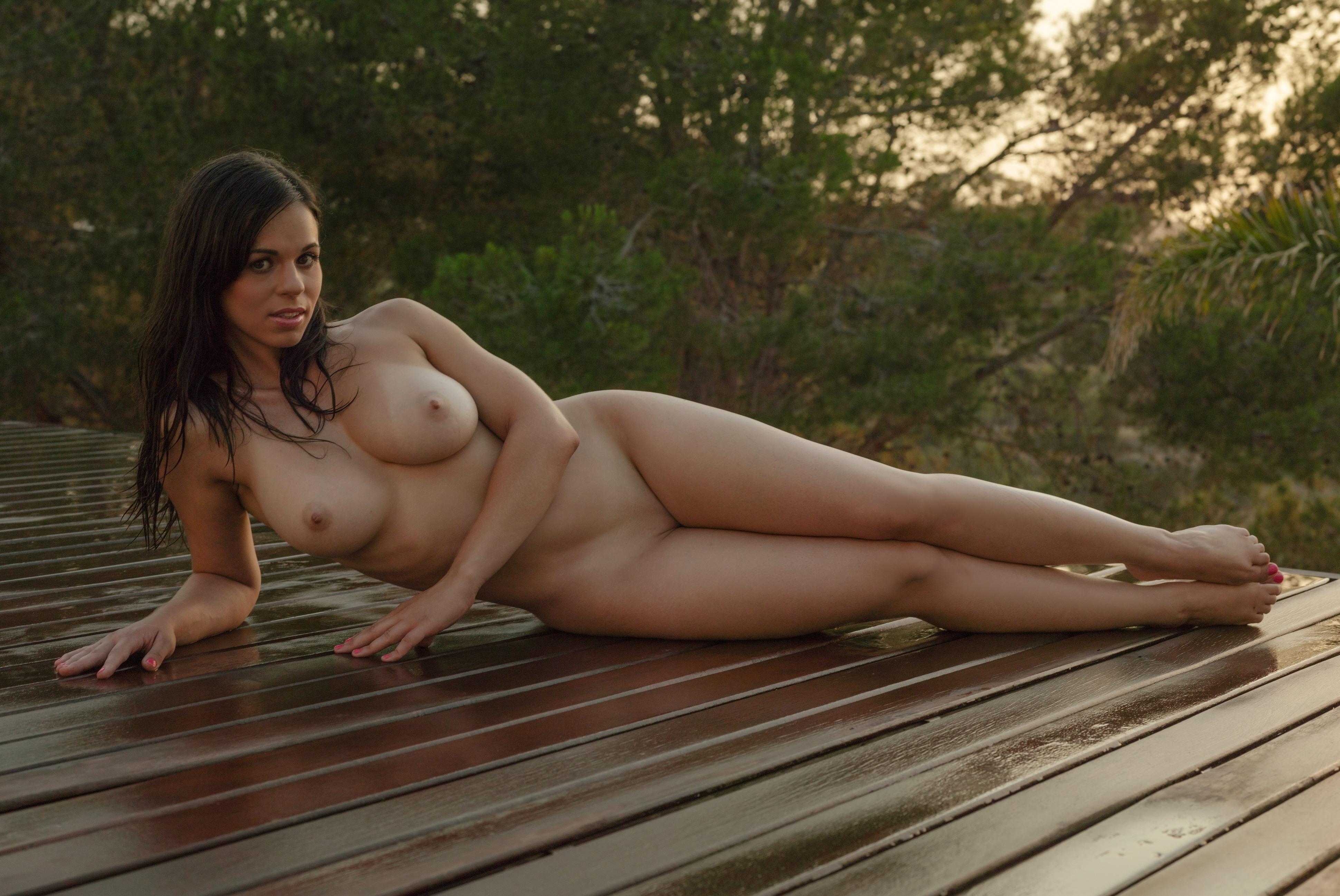Naked girl spanish beach