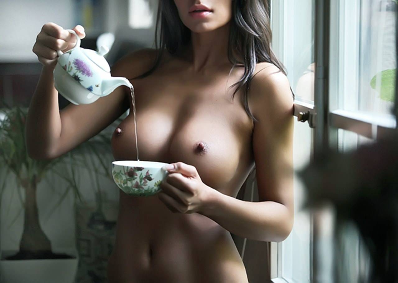 Sexy naked coffee girls