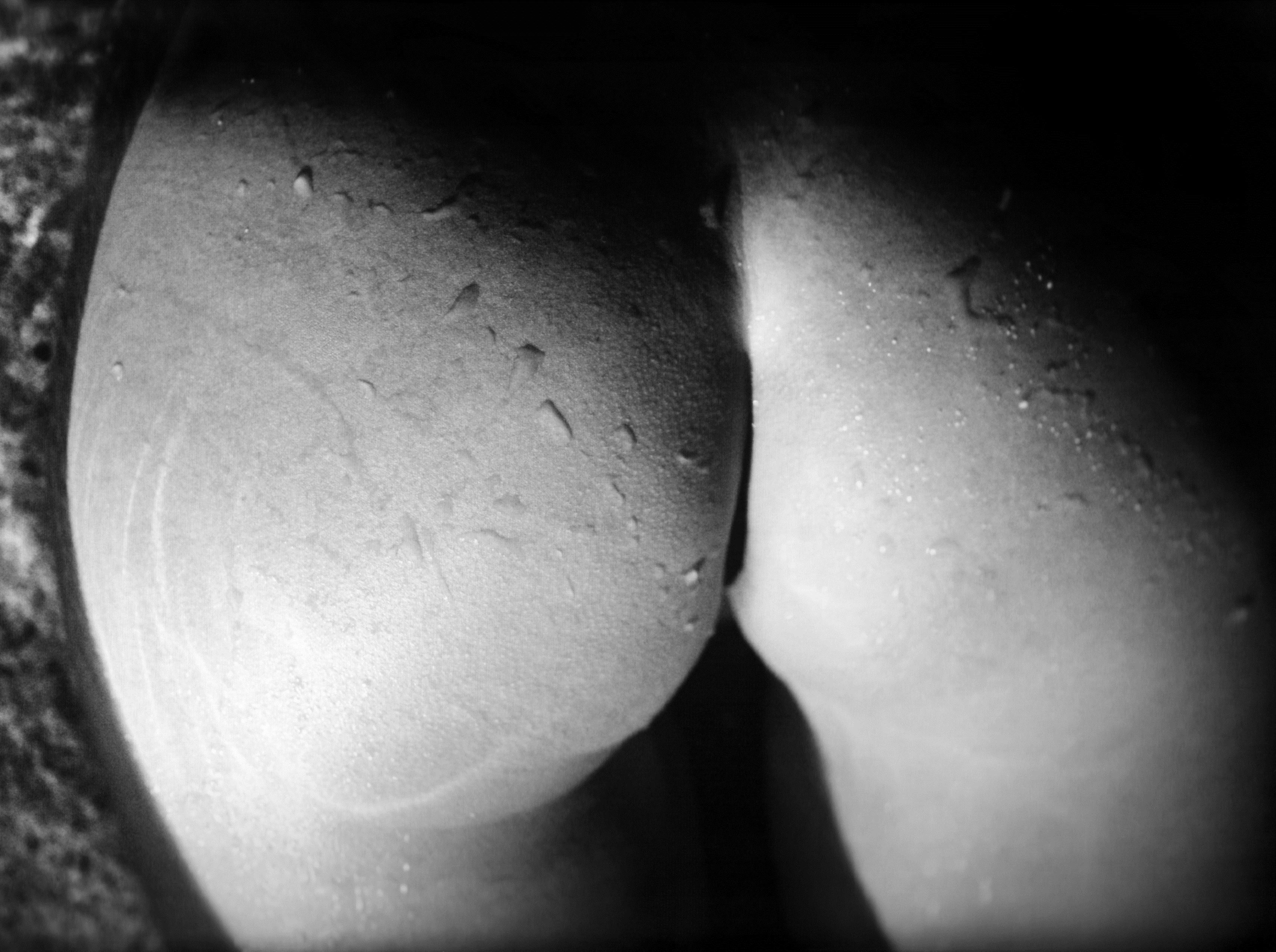 Фото Мокрая голая попка, попа в воде, черно-белая эротика, скачать картинку бесплатно