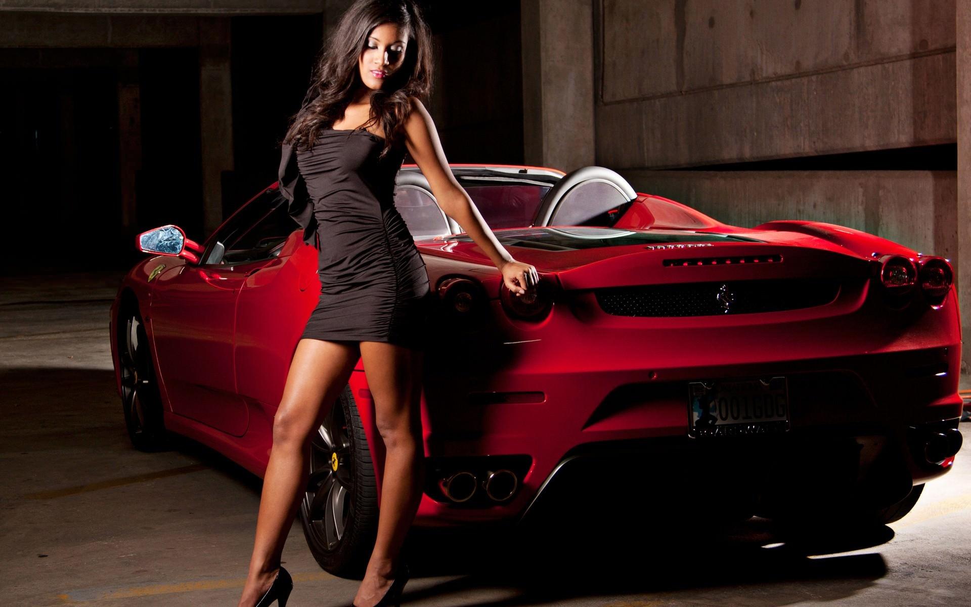 Sexy Ferrari Girl