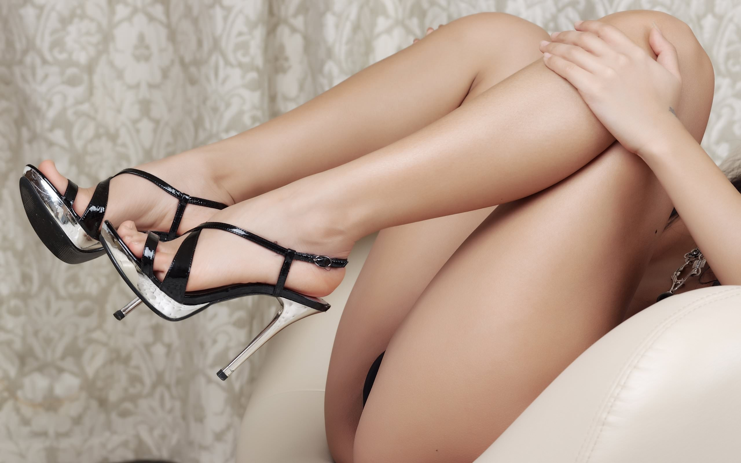 Sexy Woman In High Heels Free Stock Photo