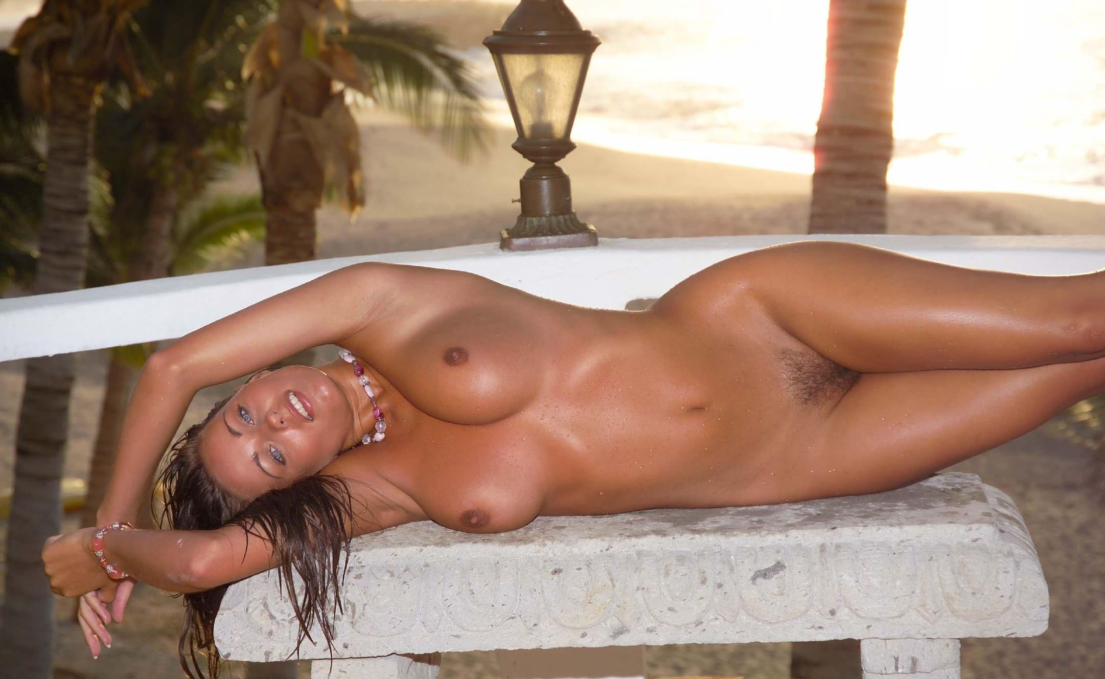 Nude tanned country girls