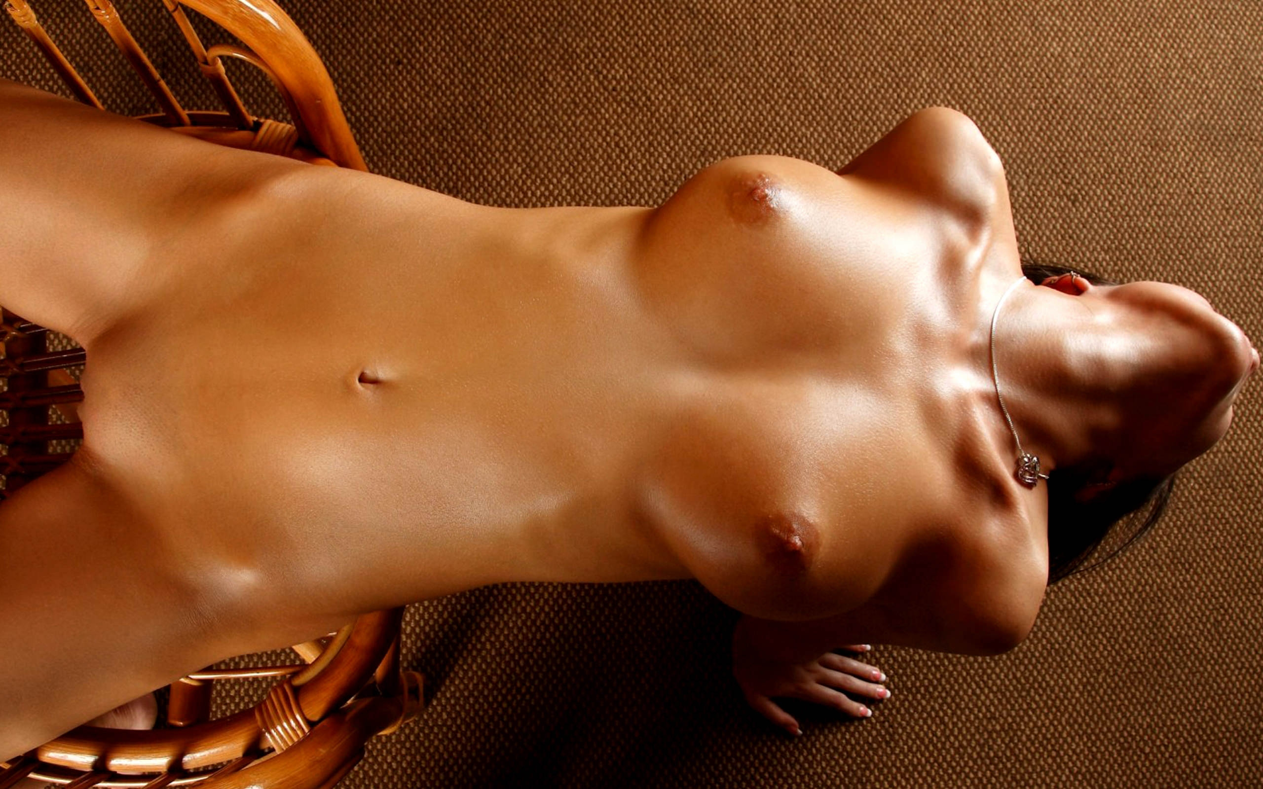 The Beauty Of Tight Binding, Naked Body Tied Up To A Pole, Nude Art, Fine