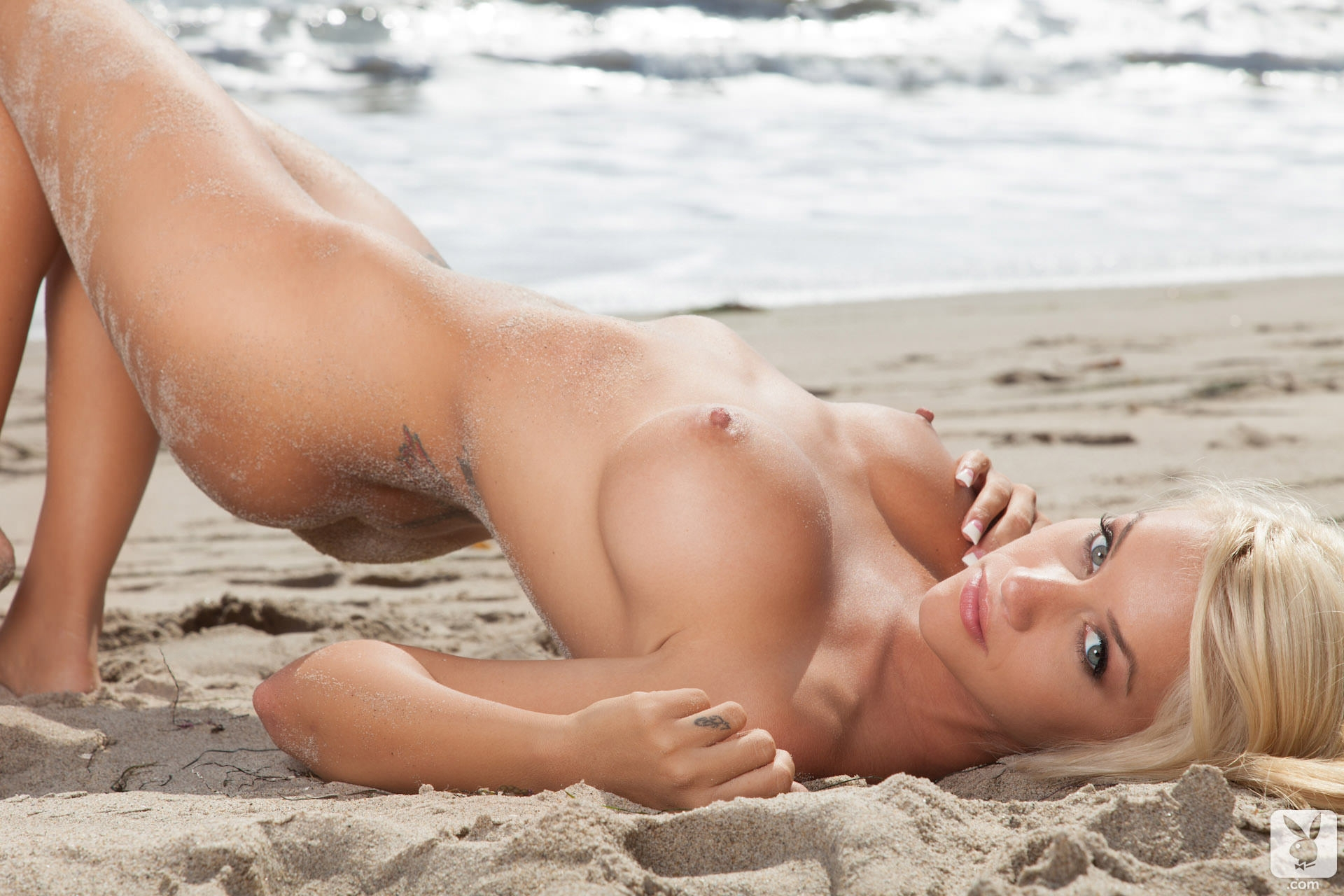 Sexy playboy nude beach girls