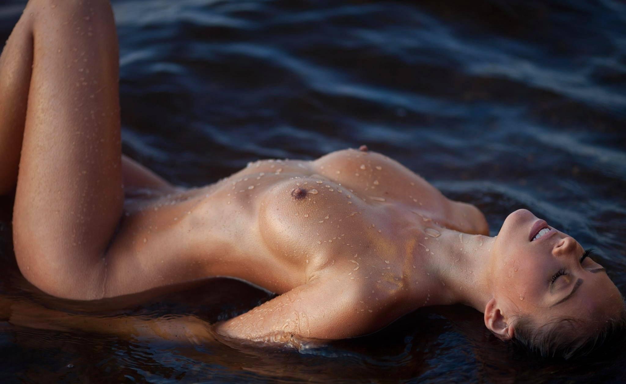 Naked wet boys