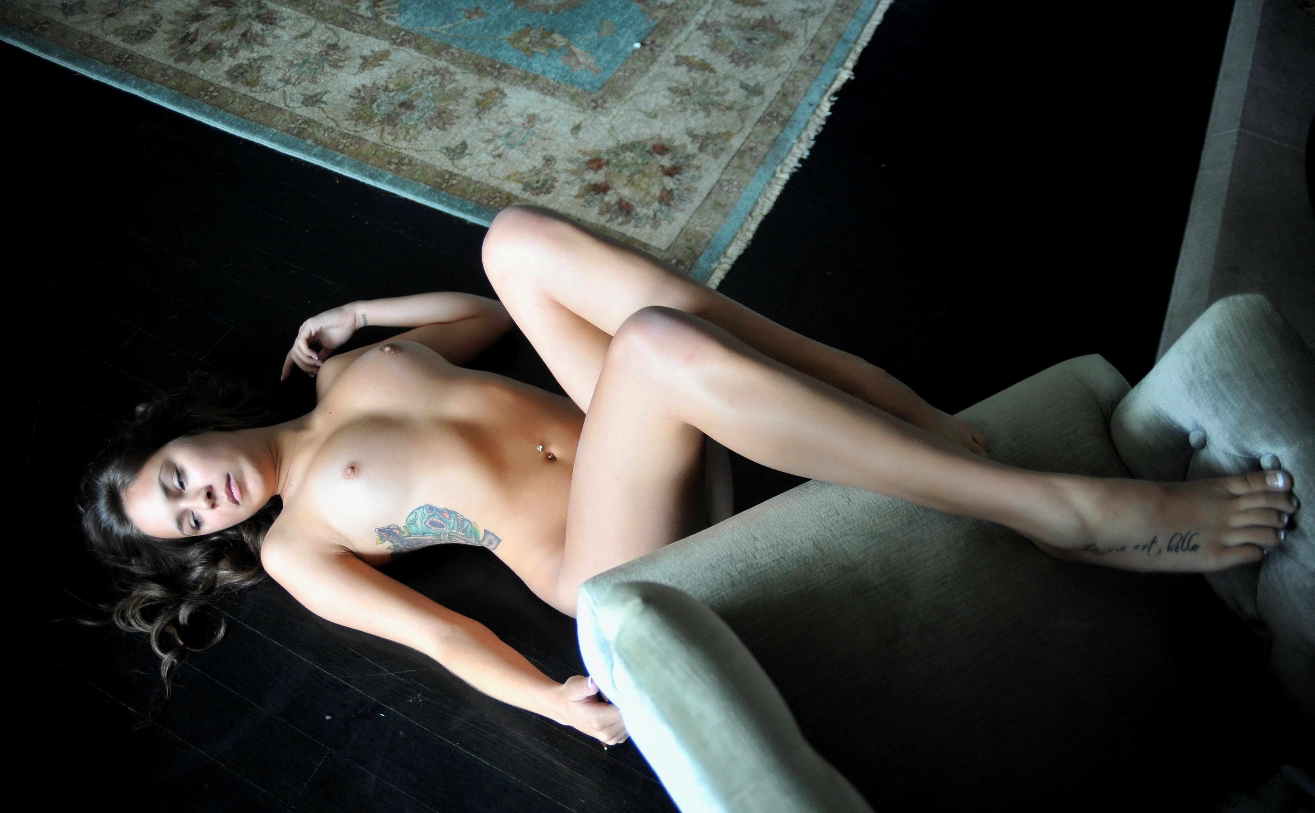 Lying Naked On The Floor Song