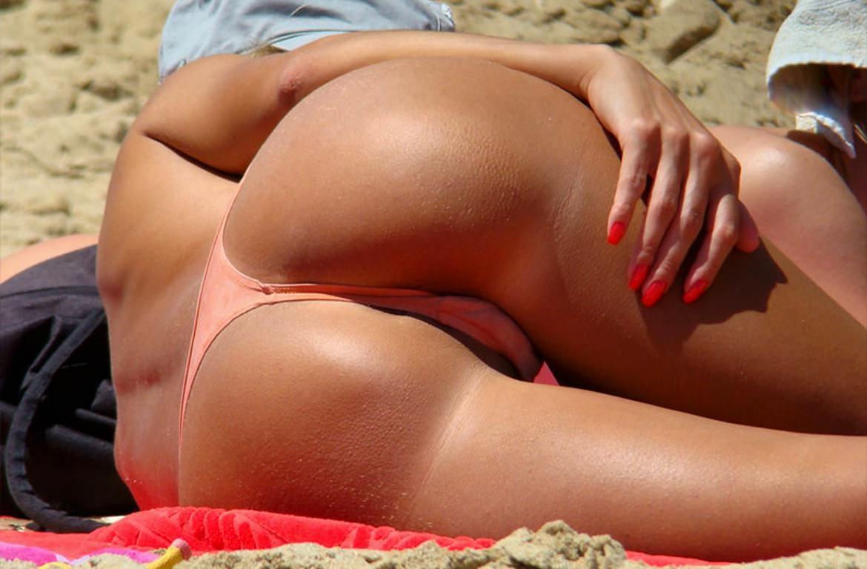Пизда купальники пляж