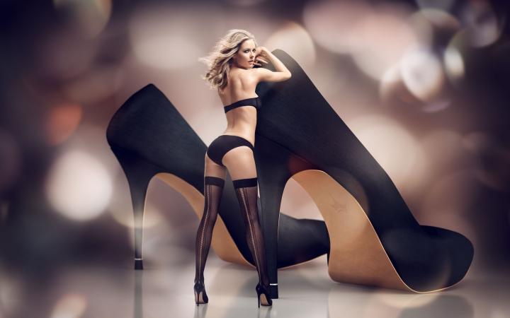 Сексуальная на каблуках ошибаетесь